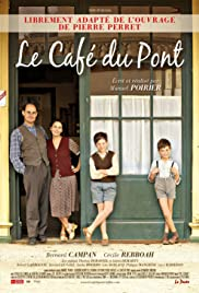 Le café du pont Poster