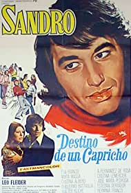 Sandro in Destino de un capricho (1972)