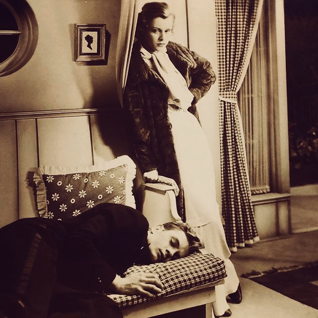 Frances Dee and Phillip Trent in Coming Out Party (1934)
