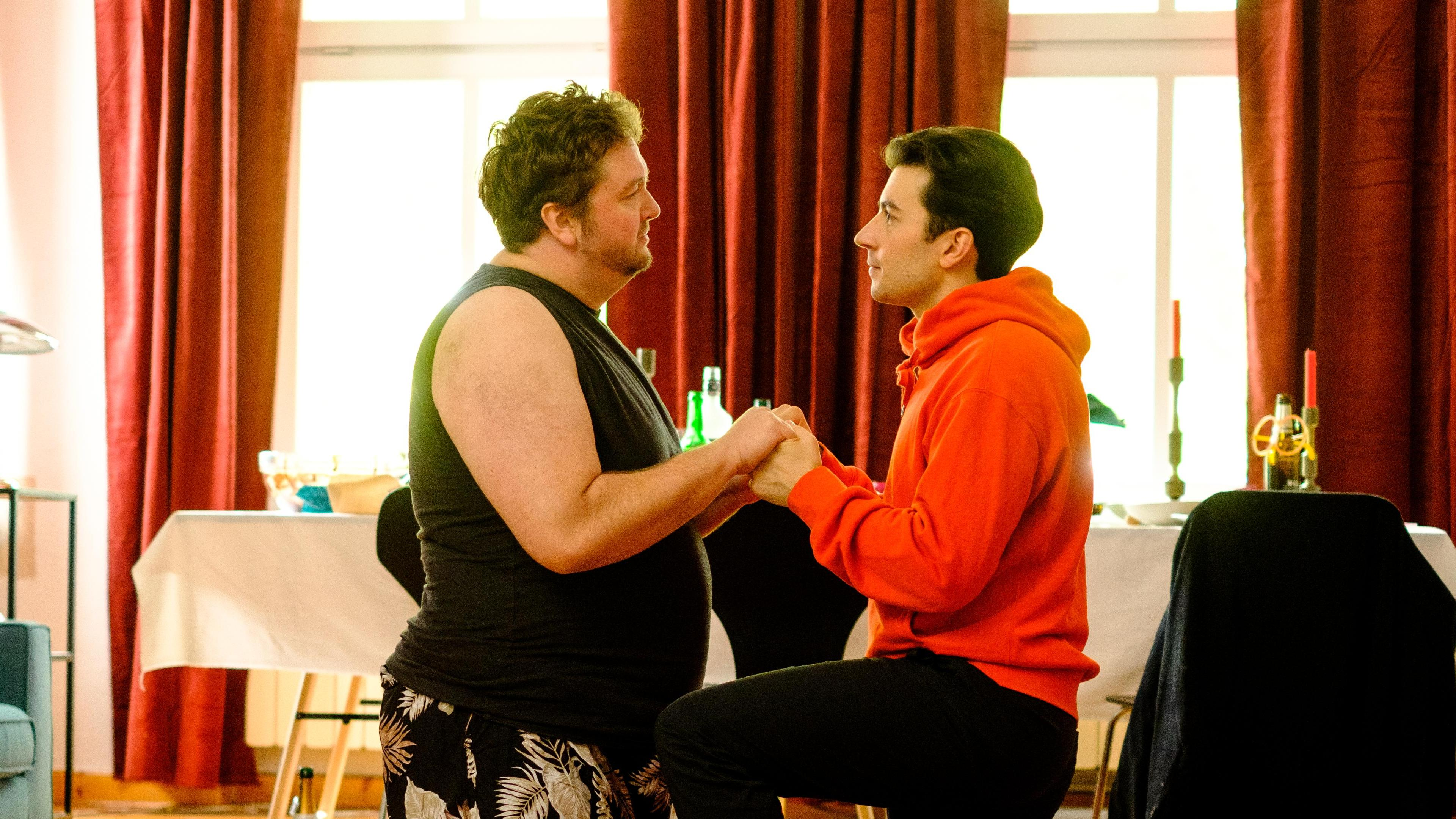 Daniel Zillmann and David Brizzi in Liebe. Jetzt! (2020)