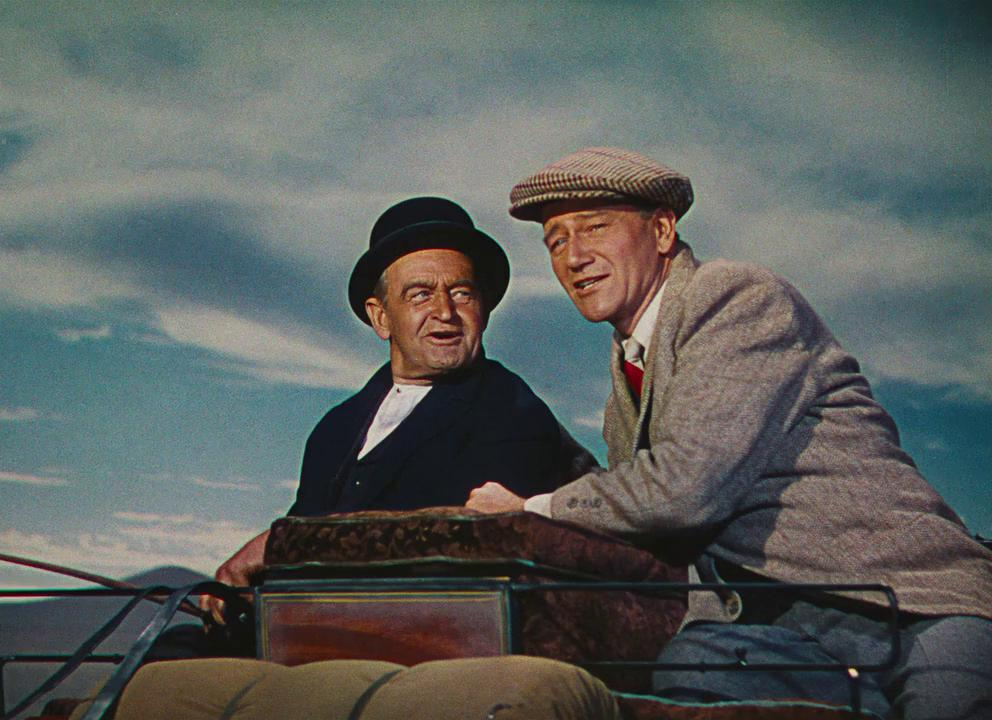 John Wayne and Barry Fitzgerald in The Quiet Man (1952)