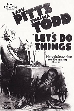 Hal Roach Let's Do Things Movie