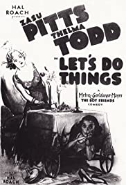 Let's Do Things Poster