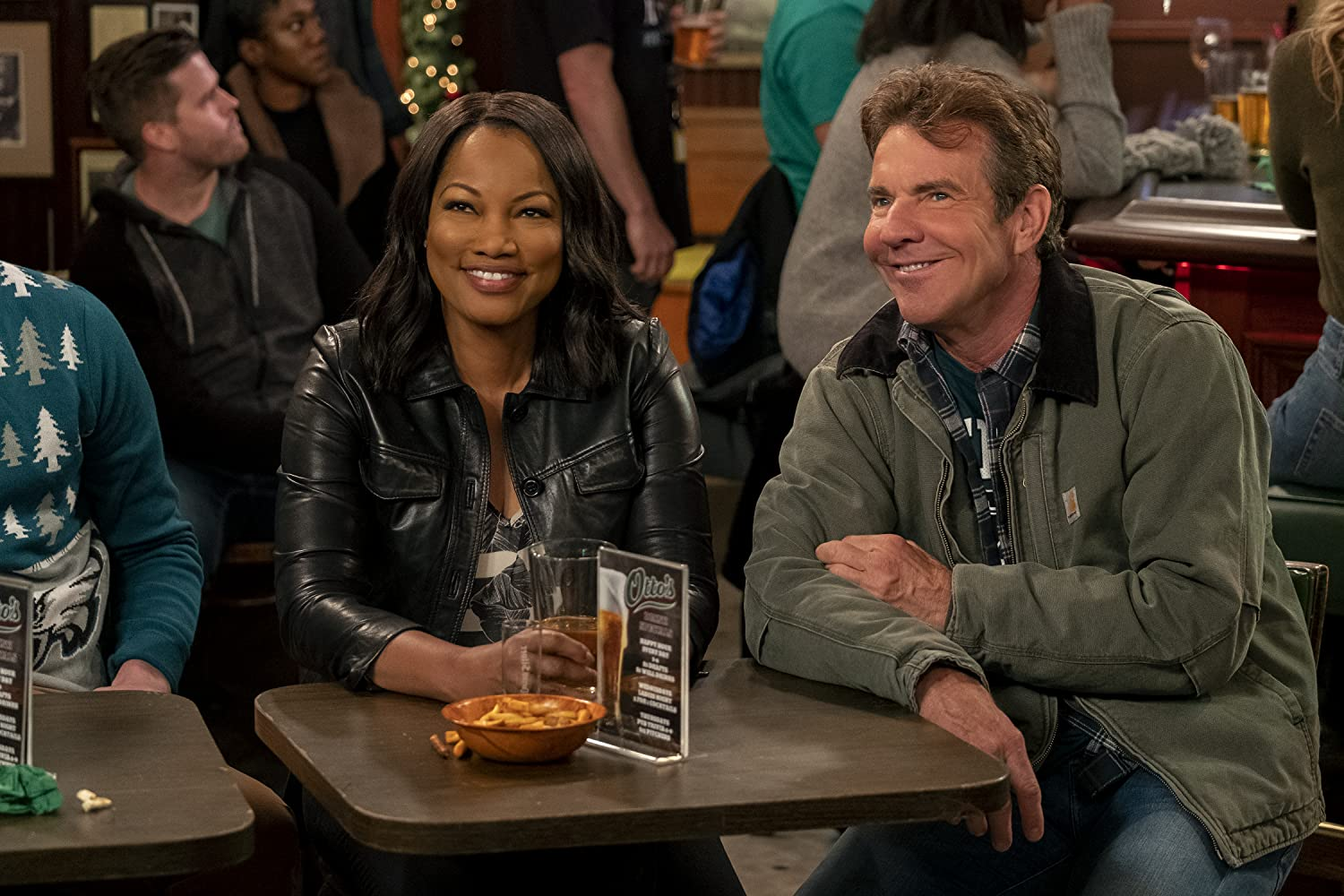 Dennis Quaid and Garcelle Beauvais in Merry Happy Whatever (2019)