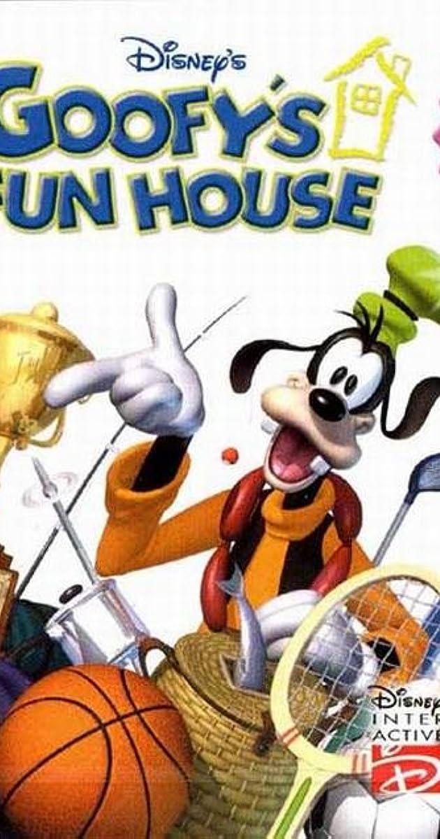 goofy u0026 39 s fun house  video game 2001