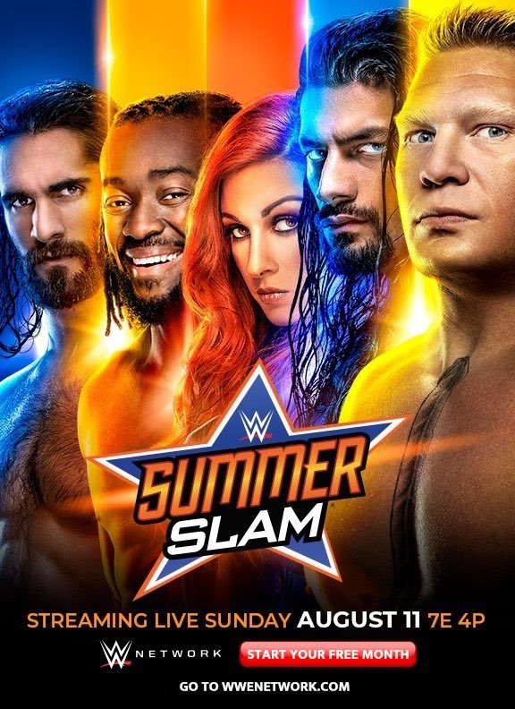 WWE SummerSlam 2019 English PPV Readnfo Full Show 700MB HDRip Download