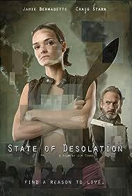 Craig Stark and Jamie Bernadette in State of Desolation (2021)