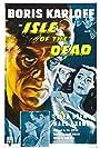 Boris Karloff, Marc Cramer, and Ellen Drew in Isle of the Dead (1945)