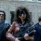 Monica Bellucci, Vincent Cassel, and Antoine Basler in Dobermann (1997)