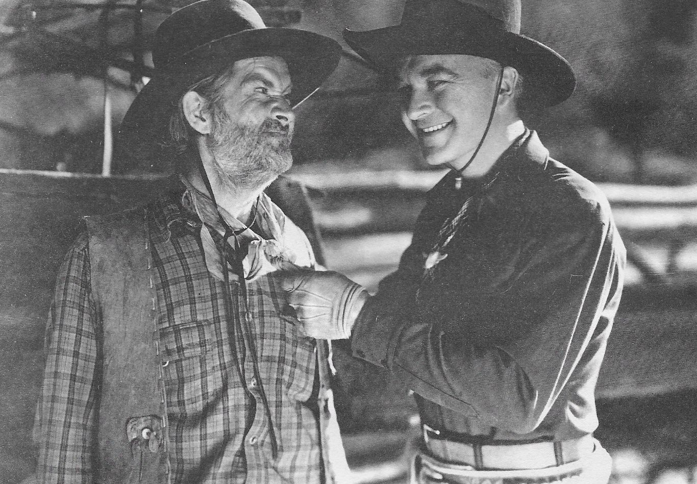 William Boyd and George 'Gabby' Hayes in Heart of the West (1936)