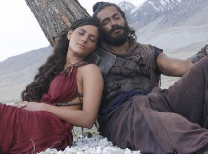 Saiyami Kher and Harshvardhan Kapoor in Mirzya (2016)