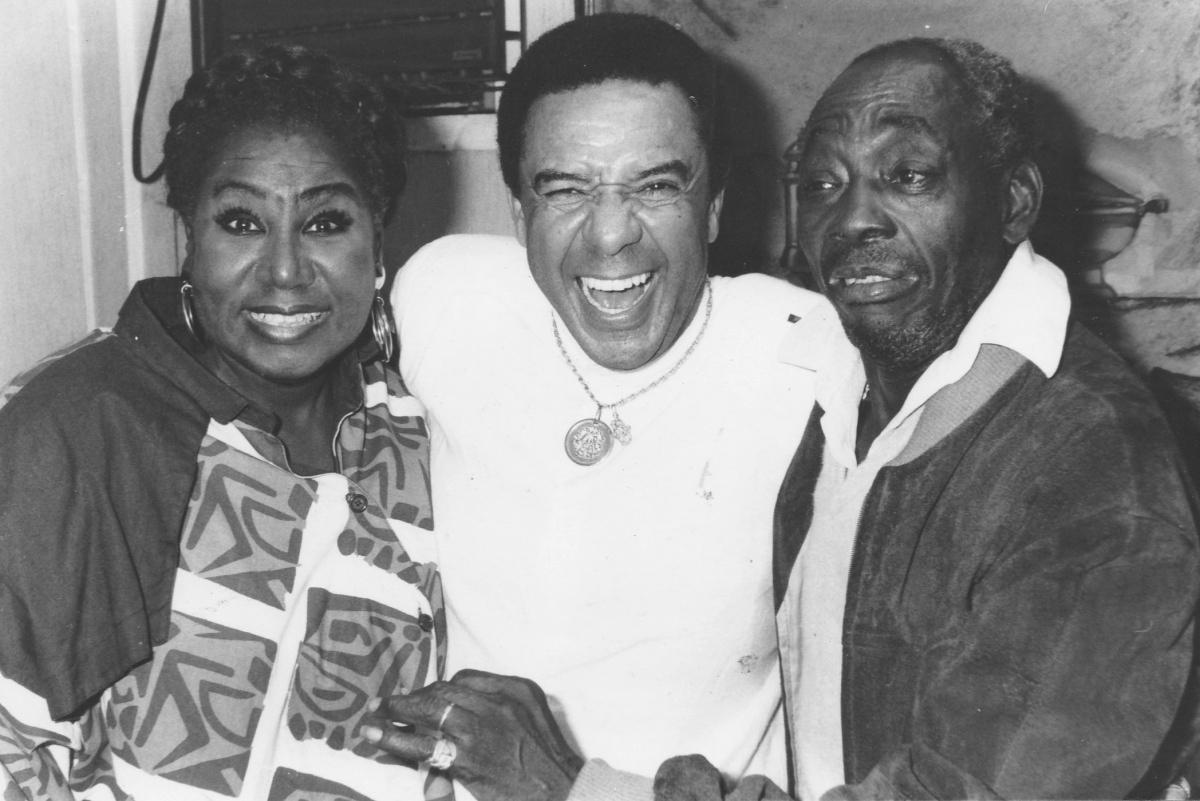 Tião Macalé, Marina Miranda, and Agnaldo Timóteo