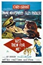 Kiss Them for Me (1957) Poster