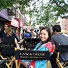 On location for Law & Order: SVU [2011, Blood Brothers]