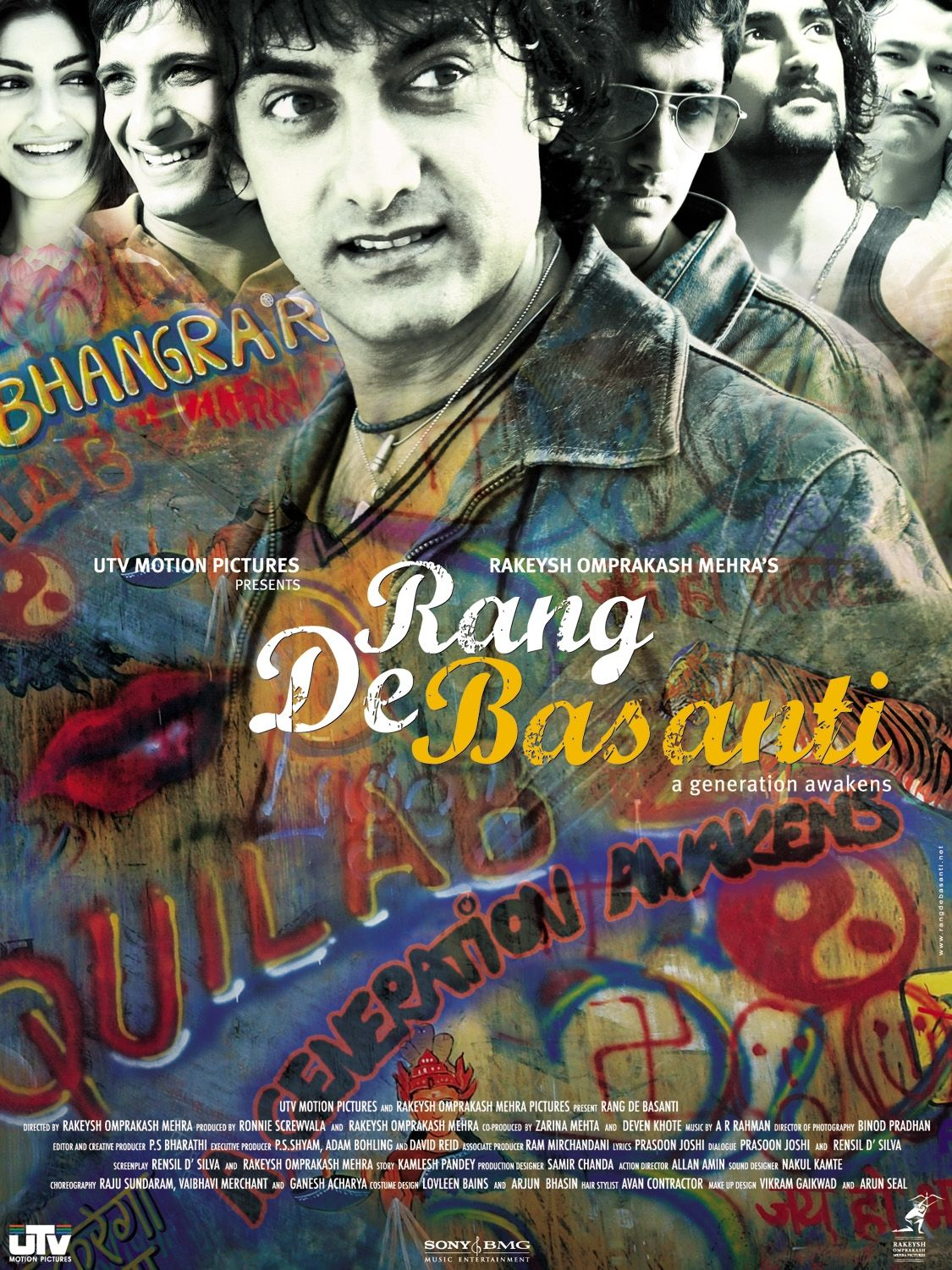 Image result for rang de basanti poster hd