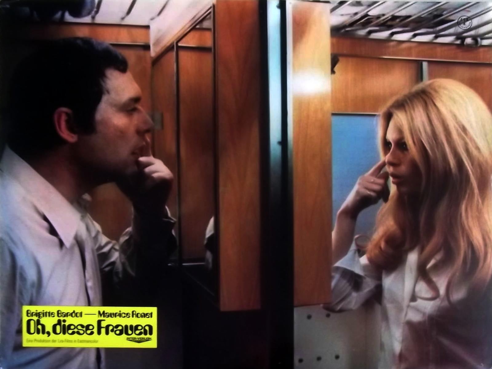 Brigitte Bardot and Robert Hossein in Le repos du guerrier (1962)