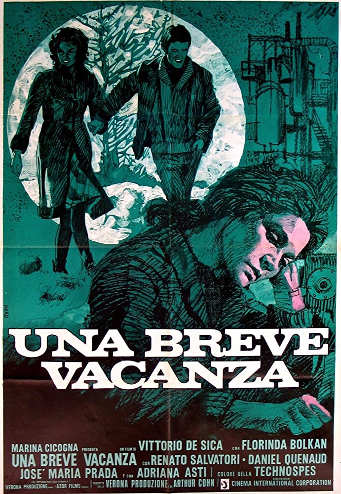 Florinda Bolkan and Daniel Quenaud in Una breve vacanza (1973)