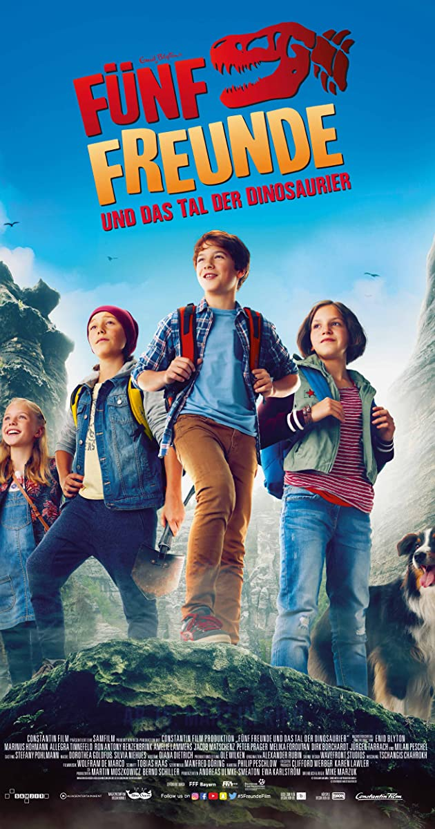 Subtitle of The Famous Five and the Valley of Dinosaurs
