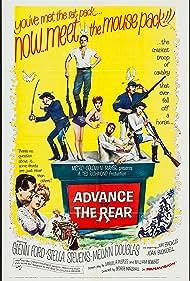 Jim Backus, Joan Blondell, Glenn Ford, Stella Stevens, and Melvyn Douglas in Advance to the Rear (1964)