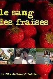 Le sang des fraises Poster