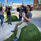 Nathan Meade lines up a shot on location for Songland - Season 2