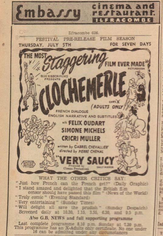 Scandals of Clochemerle (1948)