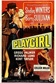 Shelley Winters, Colleen Miller, and Barry Sullivan in Playgirl (1954)
