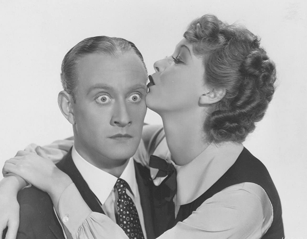 Conrad Nagel and Helen Twelvetrees in One Hour Late (1934)