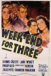 Weekend for Three (1941) Poster - Movie Forum, Cast, Reviews