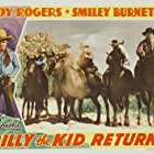 Roy Rogers, Art Dillard, Fred Kohler, George Montgomery, and Morgan Wallace in Billy the Kid Returns (1938)