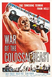 War of the Colossal Beast (1958) Poster - Movie Forum, Cast, Reviews