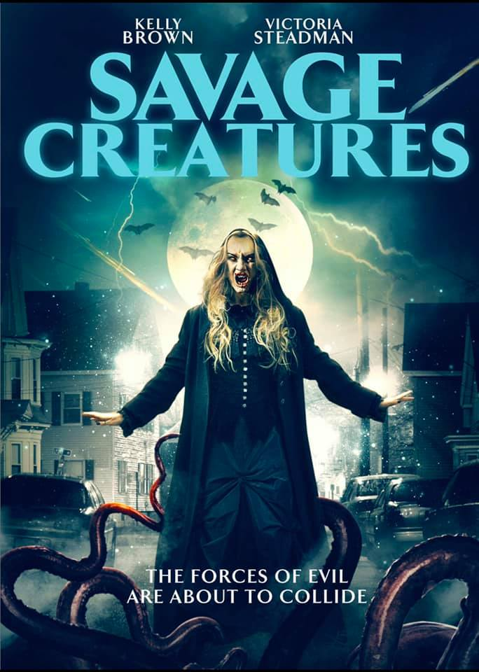 Savage Creatures 2020 English 300MB HDRip 480p ESubs