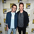 Scott Derrickson and Benedict Cumberbatch at an event for Doctor Strange in the Multiverse of Madness (2022)