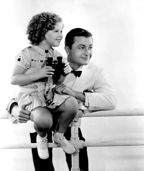 Shirley Temple and Robert Young in Stowaway (1936)
