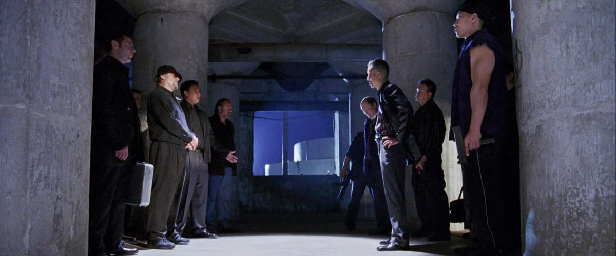 Leonardo DiCaprio, Jack Nicholson, Michael Byron, Victor Chan, Dennis Lynch, David O'Hara, Ray Winstone, Robert 'Toshi' Kar Yuen Chan, Henry Yuk, and William Lee in The Departed (2006)