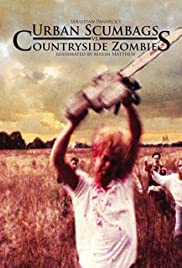 Urban Scumbags vs. Countryside Zombies Reanimated by Maxim Matthew Poster