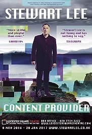 Stewart Lee: Content Provider Poster