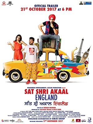 Sat Shri Akaal England Affiche de film
