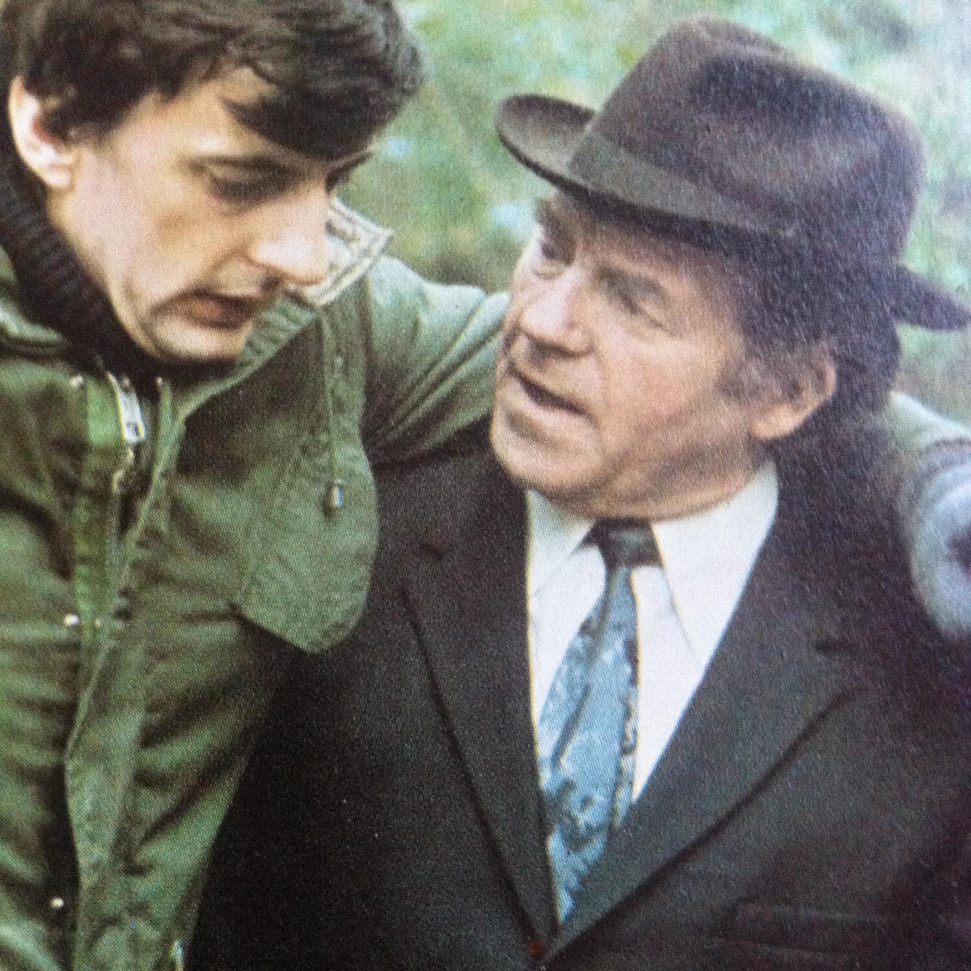 Joe Belcher and Jack Shepherd in Ready When You Are, Mr. McGill (1976)