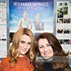 Cynde Harmon and Jessica Harmon at an event for If I Had Wings (2013)