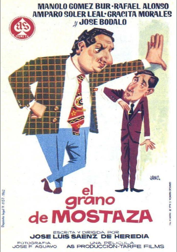 José Bódalo and Manolo Gómez Bur in El grano de mostaza (1962)