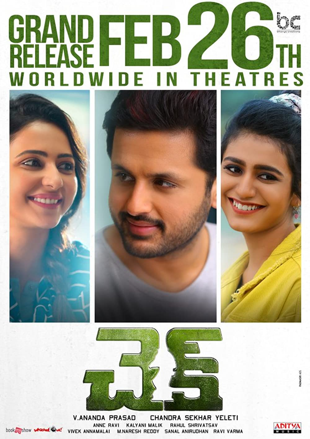 Check 2021 Telugu 720p HDRip ESub 1.34GB Download