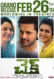 Check (2021) DVDScr Telugu Movie Watch Online Free