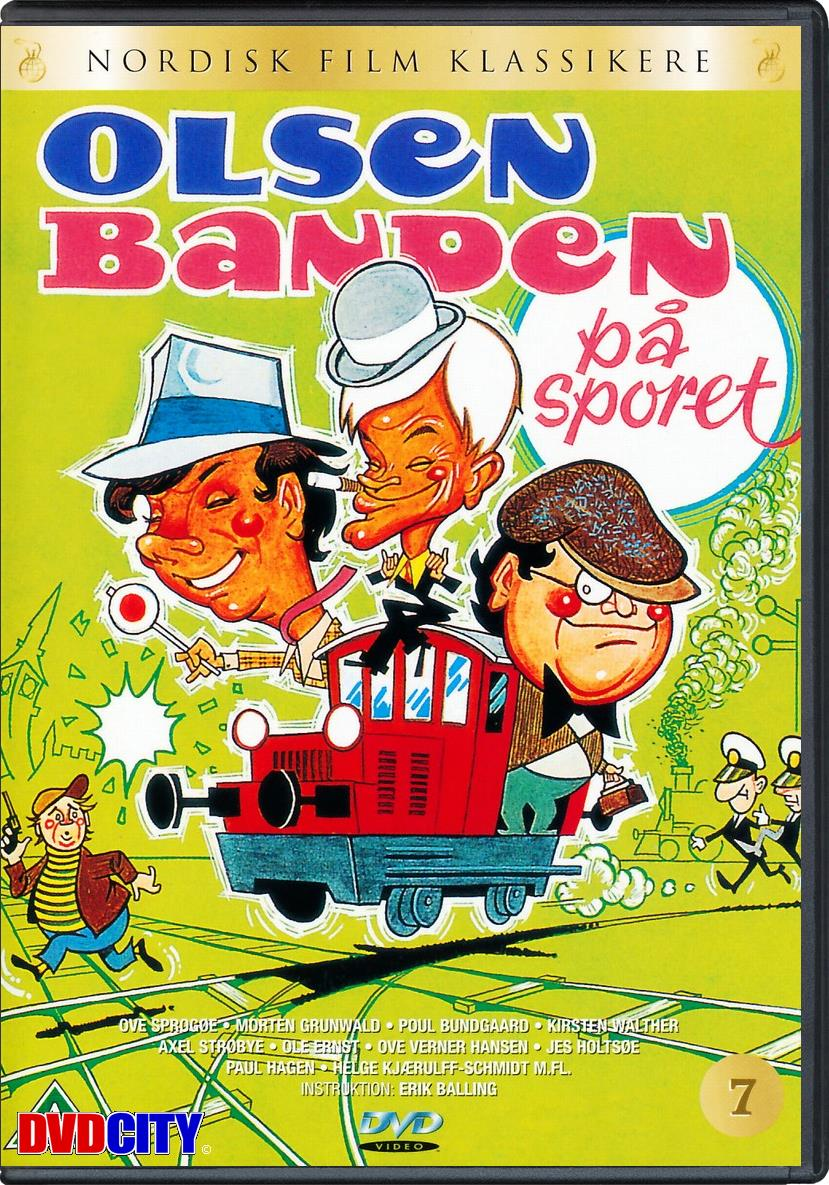 Olsen-banden på sporet (1975)