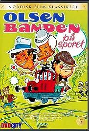 Olsen-banden på sporet Poster