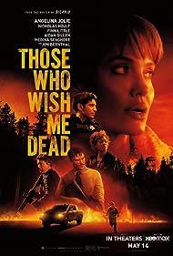 Angelina Jolie, Aidan Gillen, Nicholas Hoult, Jon Bernthal, Medina Senghore, and Finn Little in Those Who Wish Me Dead (2021)