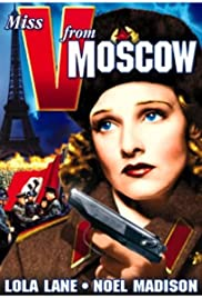 Miss V from Moscow Poster