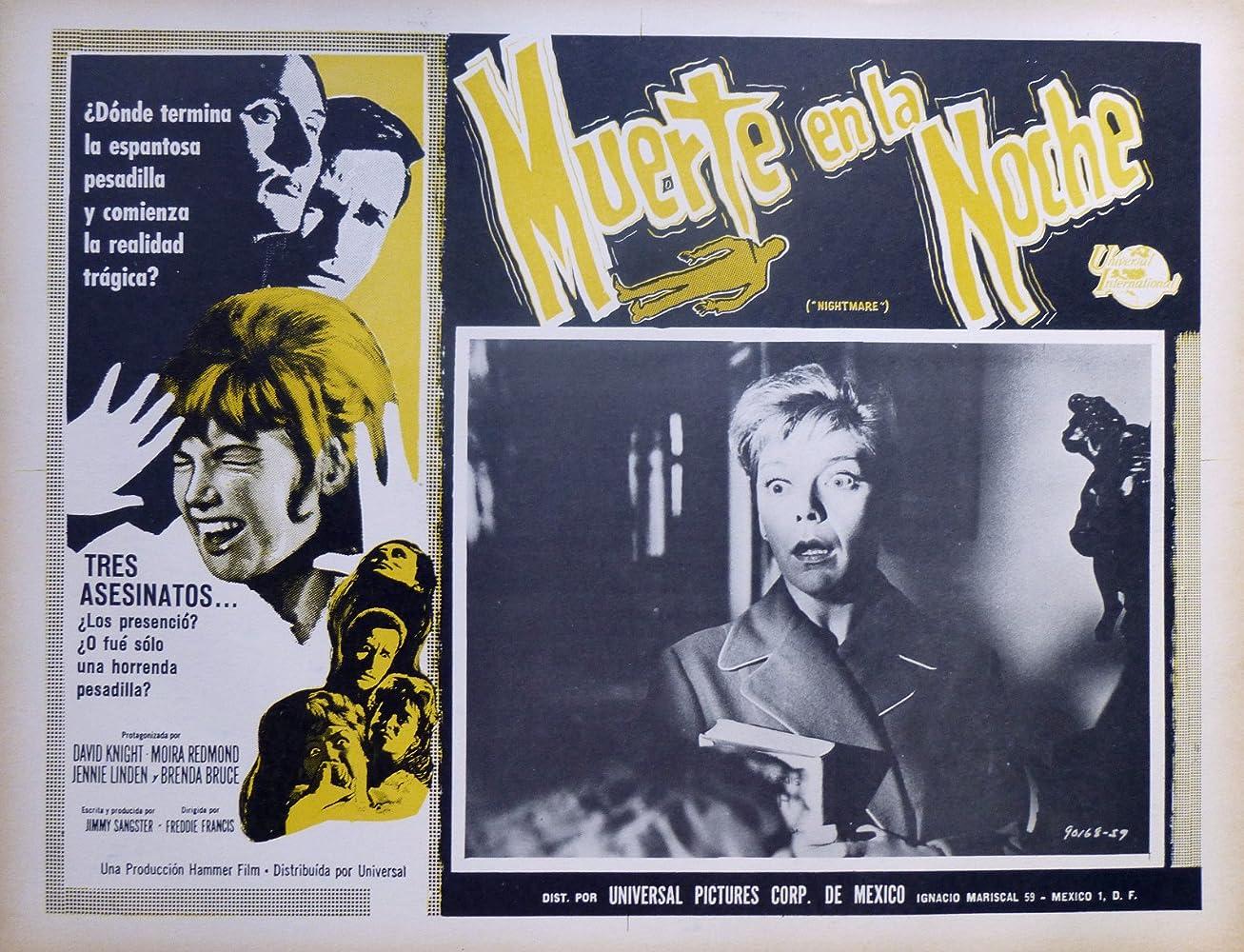 Резултат со слика за NIGHTMARE (1964)