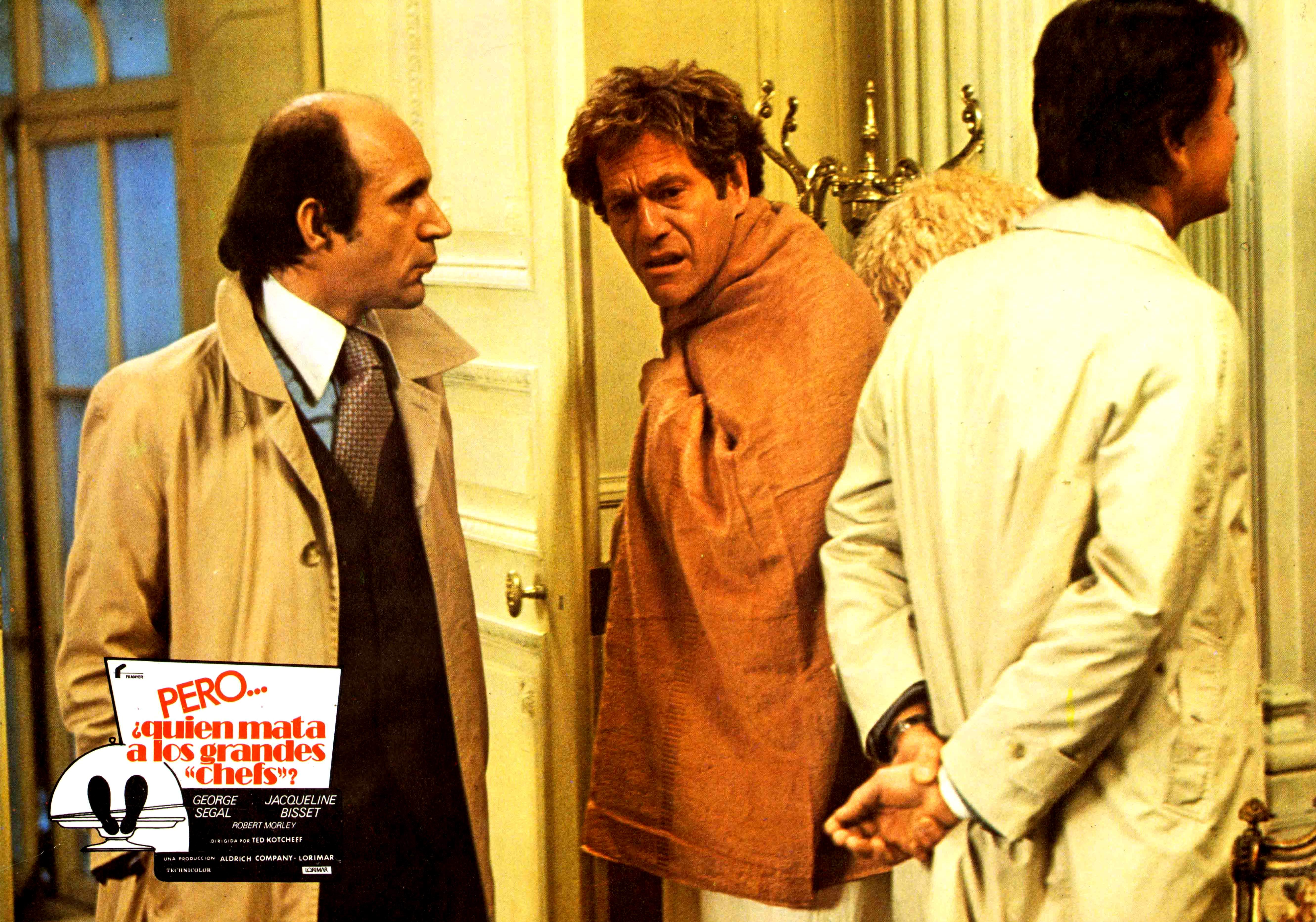 George Segal in Who Is Killing the Great Chefs of Europe? (1978)