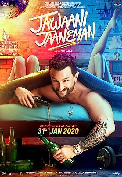 Jawaani Jaaneman 2020 HDRip 300MB 480p Full Hindi Movie Download